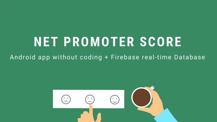Create an Net Promoter Score (NPS) Android App without Coding | Tutorial | No-code